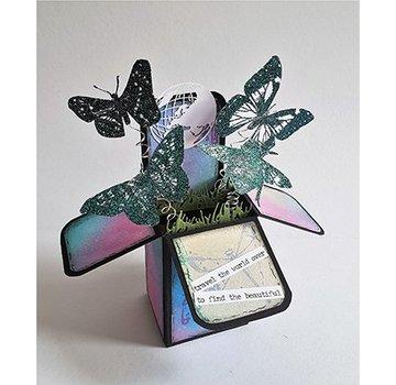 Dutch DooBaDoo Modello di plastica A4: Box Popup Box Art