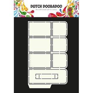 Dutch DooBaDoo A4 plastic sjabloon: vak Art pop-up vak