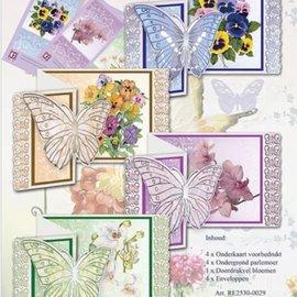 BASTELSETS / CRAFT KITS Completa kits de artesanía para el diseño de la tarjeta