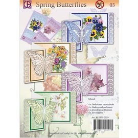 BASTELSETS / CRAFT KITS Kit d'artisanat complet pour la conception de cartes