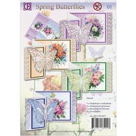 BASTELSETS / CRAFT KITS Kit d'artisanat complet pour la conception de cartes
