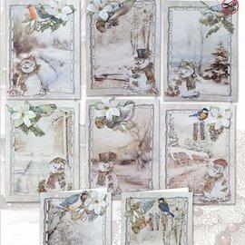 BASTELSETS / CRAFT KITS Komplet håndværkssæt til at designe 8 kort!