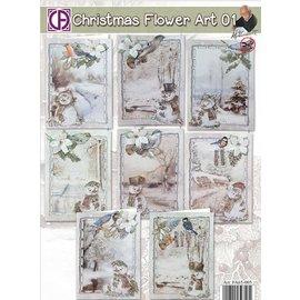 BASTELSETS / CRAFT KITS Kits de artesanato completos para projetar 8 cartões!