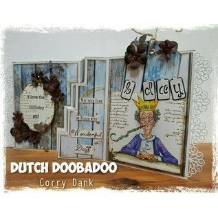 Dutch DooBaDoo Modelo de plástico A4: cartão de cartão de tipo de escadas
