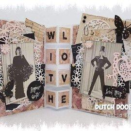 Dutch DooBaDoo Modello di plastica A4: tipo di carta di scale di carte