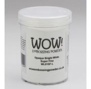 FARBE / STEMPELKISSEN Wow! Prægning pulver hvid, Super Fine