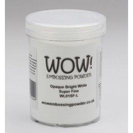 FARBE / STEMPELKISSEN Wow! Embossing pulver hvit, Super Fine