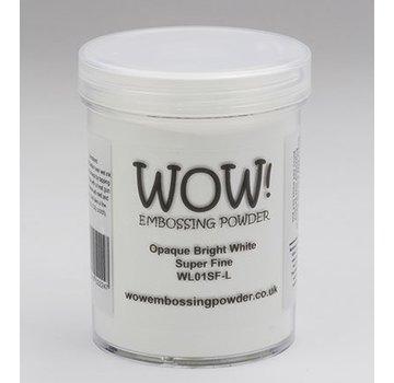 FARBE / STEMPELKISSEN Wow! Embossing powder white, Super Fine