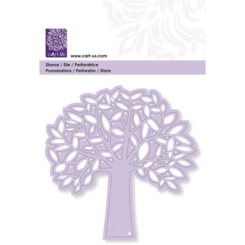 CREATIVE EXPRESSIONS und COUTURE CREATIONS Punch skabelon: træ med blade