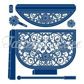 Tattered Lace A4 Stanzschablonen zum stanzen mit einer Stanzmaschine