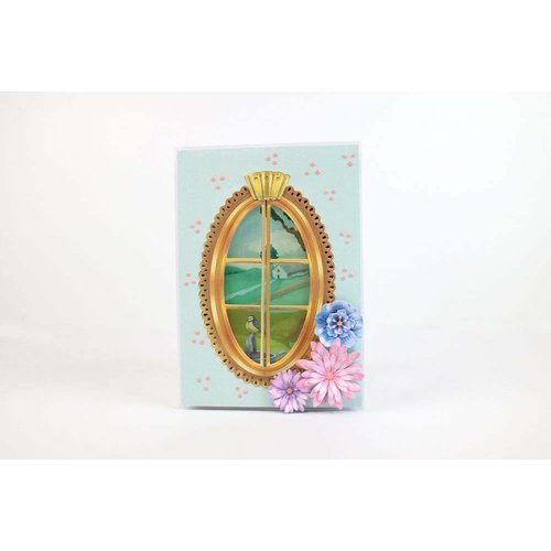 Tattered Lace NEW! cutting die: Sunshine Flora