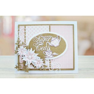 Tattered Lace NEW! cutting die: You are The Sugar in my Tea