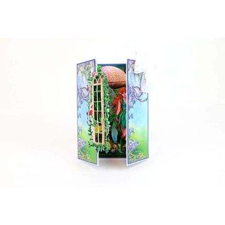 Tattered Lace NUOVO! Modello di punzonatura: finestra con edera