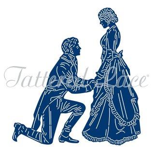Tattered Lace NEU! Stanzschablone: Lord & Lady
