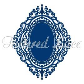 Tattered Lace NOUVEAU! Gabarit de découpe: cadre camée