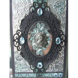 Tattered Lace Stanzschablone: Cameo Frame
