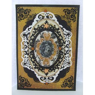 Tattered Lace NEW! cutting die: Cameo Frame