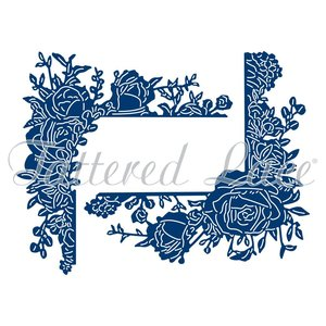 Tattered Lace NOUVEAU! Die Cutting Template: Roses romantiques