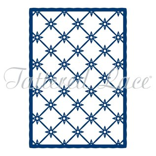 Tattered Lace NUOVO! Punch Template: Trellis Background