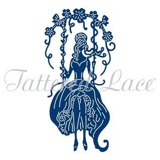 Tattered Lace NYHED! Die Skære Skabelon: Til Den Én Jeg Elsker