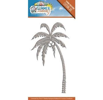 Joy!Crafts / Jeanine´s Art, Hobby Solutions Dies /  Stanzschablone: Summer Holiday - Palm Baum
