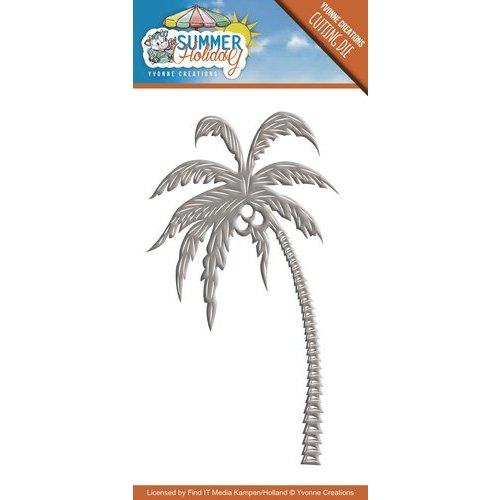 Joy!Crafts / Jeanine´s Art, Hobby Solutions Dies /  Die Cutting Template: Summer Holiday - Palm Tree