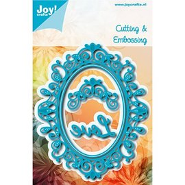 Joy!Crafts / Jeanine´s Art, Hobby Solutions Dies /  cutting and emboss die: Oval Sophia 6002/1113