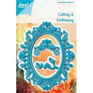 Joy!Crafts / Jeanine´s Art, Hobby Solutions Dies /  Cortar e gravar modelo / Mall: oval Sophia 6002/1113