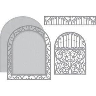 Spellbinders und Rayher Stencils, Spellbinders Ornamental Arch (S5-340)