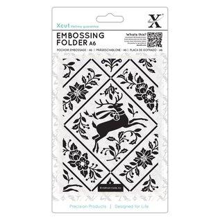Docrafts / X-Cut A6 Embossing Folder