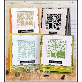 Spellbinders und Rayher Plantillas y plantillas de corte y relieve, Four Seasons Silhouettes (S5-337)