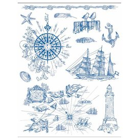 Stempel / Stamp: Transparent Motif de timbre 14 x 18 cm, fond grunge - Copy