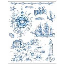 Stempel / Stamp: Transparent Timbro motivo 14 x 18 cm, sfondi grunge - Copy