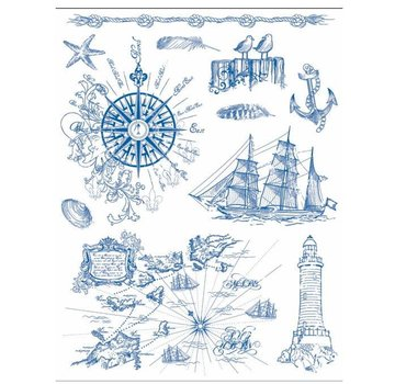 Stempel / Stamp: Transparent Frimærke motiv 14 x 18 cm, grunge baggrunde - Copy