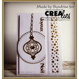 Crealies und CraftEmotions Stanzschablone