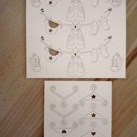 Embellishments / Verzierungen truciolato, bambino decorativo