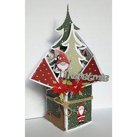 Dutch DooBaDoo Plantilla de plástico A4: Box Art Popupbox