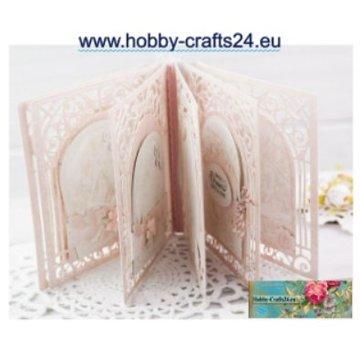 Spellbinders und Rayher Stanzschablonen, Spellbinders Grand Arch 3D Card (S6-138)  - LETZTE