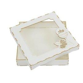 BASTELSETS / CRAFT KITS Caja de tarjeta de conglomerado, Comunión