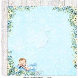 Karten und Scrapbooking Papier, Papier blöcke Designer Papier, doppelseitig bedruckt, Baby