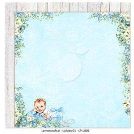 Karten und Scrapbooking Papier, Papier blöcke Papier design imprimé des deux côtés, bébé