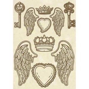Stamperia Stamperia Holzformen, Flügel