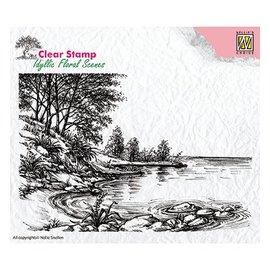 Nellie Snellen Motif timbre, bannière, paysage