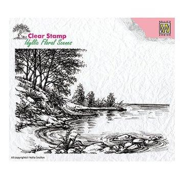 Nellie Snellen Motiv frimærke, banner, landskab