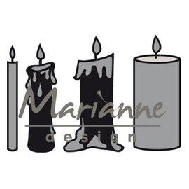 Marianne Design Klipp og præg stencil / Malle