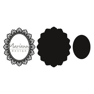 Marianne Design Snij en emboss sjablone / Malle