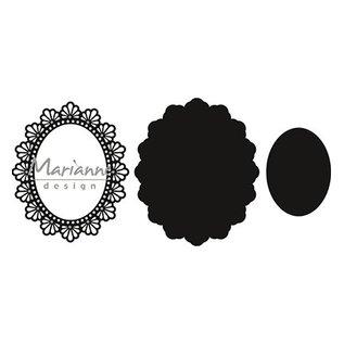 Marianne Design Taglio e rilievo stencil / Malle