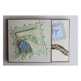 Joy!Crafts / Jeanine´s Art, Hobby Solutions Dies /  Cortar e gravar stencil / malle
