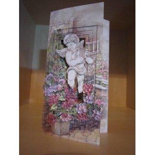 Locher / Stanzer / Punch Motief punch bloem, motief van ongeveer 1,5 cm groot,