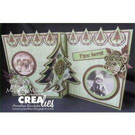 Crealies und CraftEmotions Cut Stencils, Crealies Faça um cartão